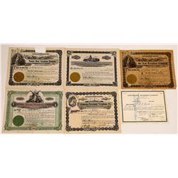 Montana Regional Telephone & Telegraph Stock Certificates  (126377)