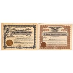 De Forest Wireless Telegraph Co. Stock Signed by De Forest Plus Extra  (126415)