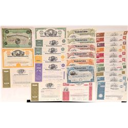 Western Union Telegraph Company Stock Certificate Collection  (126396)