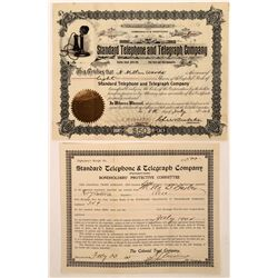 Standard Telephone & Telegraph Company Stock Pair  (126425)
