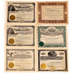 Washington Regional Telephone & Telegraph Stock Certificates  (126376)