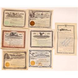 Dakota, Colorado, Nebraska, & Wyoming Telephone/Telegraph Stocks  (126383)