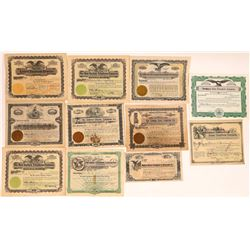 Midwest US Regional Telephone Co. Stock Certificates  (126368)