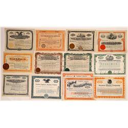 Miscellaneous Telephone Company Stock Certificates  (126366)