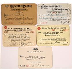 Missouri Pacific Railway Passes - 5  (126669)