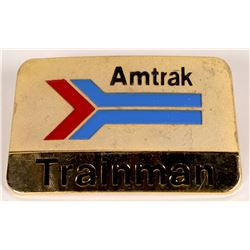 Amtrak Trainman Hat Badge  (126630)