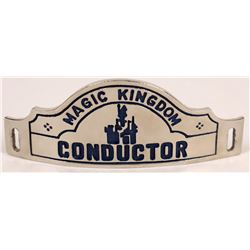 Disney Magic Kingdom Railway Conductor Hat Badge  (126645)