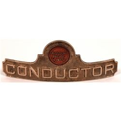 Missouri Pacific Lines Conductor Hat Badge  (126634)