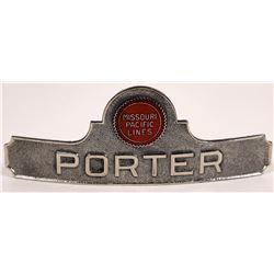 Missouri Pacific Lines Porter Hat Badge  (126635)