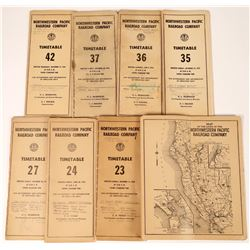 Northwestern Pacific Railroad Co. Timetable Collection  (126078)
