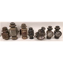Selection of Railroad/Carriage Lamps  (120958)