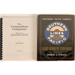 Southern Pacific Railroad Steam Locomotive Compendium Book, Plus  (122288)