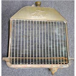 "Rare Ford Model ""T"" Brass radiator  (126543)"