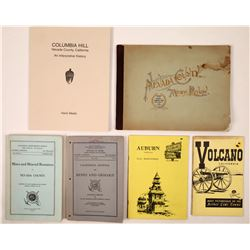 Heart of Mother Lode Books including Nevada County Mining Review, 1893  (126862)