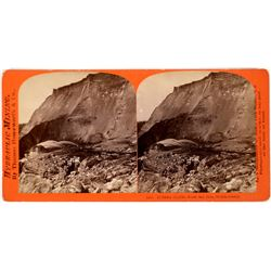 Eureka Claim – North San Juan, Nevada County, Thomas Houseworth Stereoview - Hydraulic Mining,