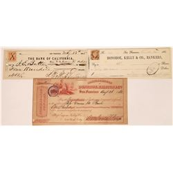 William Ralston related checks- one signed by him  (123717)