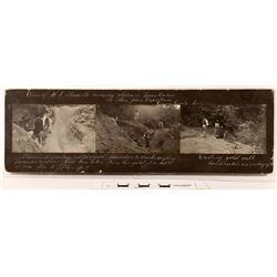 Photograph Panel of H.A. Stewart's Mining Claim  (122326)