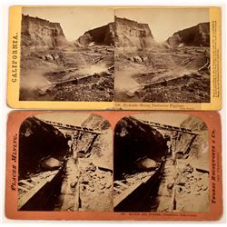Timbuctoo Hydraulic Mining Activity Stereoviews (123704)