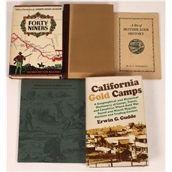California Gold Rush Camps and Mines - Five Volumes  (126932)