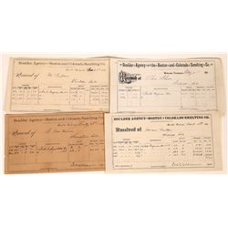 Boulder Agency of the Boston and Colorado Smelting Company Assay Reports  (123574)