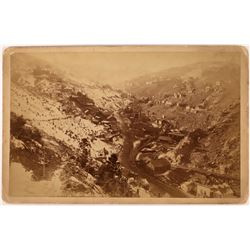 Central City from Black Hawk Cabinet Card  (123600)