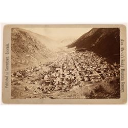 Photograph Vista from the Leavenworth Mountains of Georgetown, Colorado  (123567)