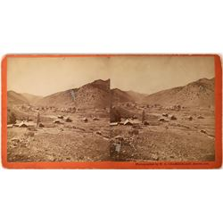 Idaho Springs Stereoview by W. G. Chamberlain  (123606)