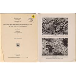 Geology and Ore Deposits of the Bonanza Mining District, Colorado  (126777)