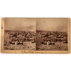 Silver Cliff Looking South Stereoview by Charles E. Emory  (123602)