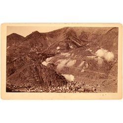 Silver Plume Mining Operations Vista Photograph, Colorado  (123568)