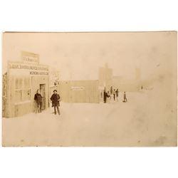 Assay Office Victor, Colorado Cabinet Card, circa 1891  (123571)