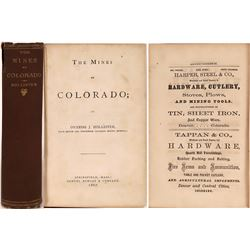 """""""Mines of Colorado"""" by Hollister with map! - A Colorado Mining Bible!  (126771)"""