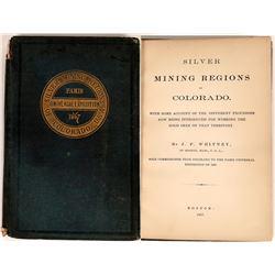 Silver Mining Regions of Colorado, Universal Exposition, 1867  (126769)