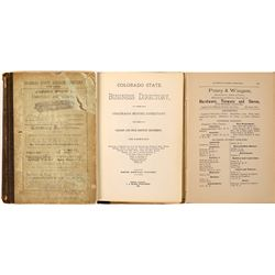Colorado Business Directory, 1880 which covers all of Colorado  (126775)