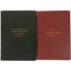 Bureau of Mines Reports, Colorado - 1897 and 1913/14 (lot of 2)  (126774)
