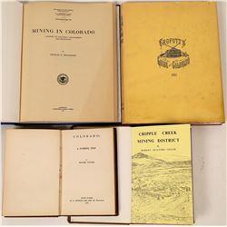 Colorado Books: Crofutt reproduction, A summer trip, Cripple Creek Mining District, Mining in Colo (
