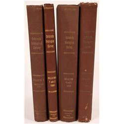 Colorado State Geological Society Early 1900's Books (4)  (126841)