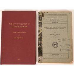 U.S.G.S. Colorado State Geologic Reports (2)  (120935)