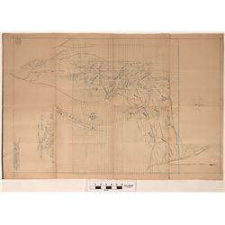 Silver Hills Nevada Mines Company Survey Map  (122283)