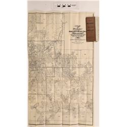 Map of Ore District, Northern Black Hills, South Dakota, 1904 - VERY RARE  (126742)