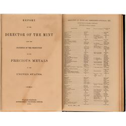 Report of the Director of the Mint, Precious Metals, U.S.  (122263)