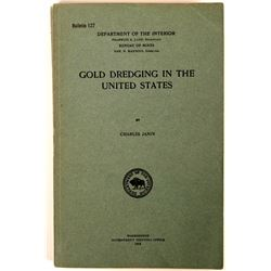 Gold Dredging in the United States 1918 Publication  (120933)
