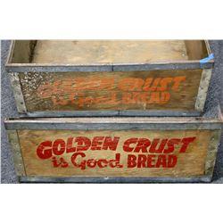 Golden Crust Antique Bread Box  (122481)