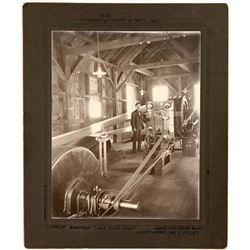 Green Power Plant 1896 Photograph, Bodie, California  (123754)
