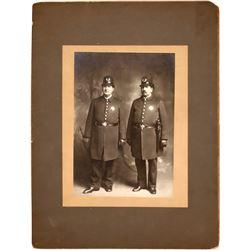 Policeman Antique Photograph  (122327)