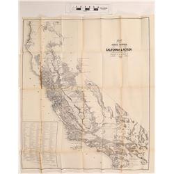 Boundary of Nevada and California, E. F. Beal Surveyor Genera