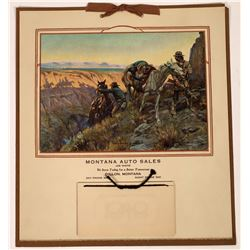 Charles Russell Calendar 1948  (125515)