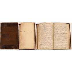 Ledger 1833 of E.L. Davies 1847  (125518)