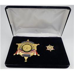 2009  Montgomery County Sheriff Inaugural Badge  (125347)
