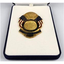 Howard County  56th Pres. Inaugural Badge  (125349)